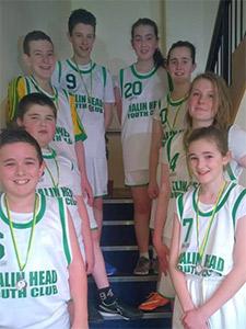 A team at Malin Head youth Club